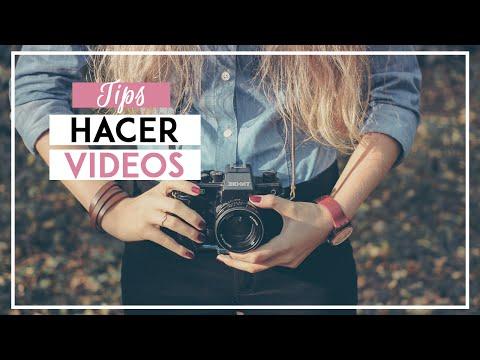 ¿CÓMO HACER VIDEOS PARA YOUTUBE? ¡Tips para ser vlogger! - SONIA ALICIA