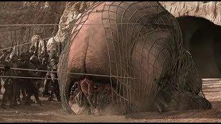22年前的特效至今能打!外星肉蟲竟靠吃人腦進化,人蟲大戰一觸即發