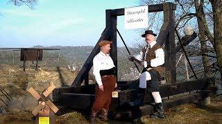 preview picture of video 'Don Quijote aus Stadt Wehlen - Zeit der Abrechnung - Frühlingsanfang 2014'