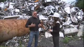 Jen at Work:  Scrap yard