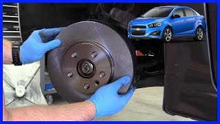 Brake Pads and Rotor Chevrolet Sonic