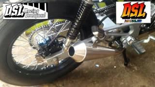 Review Knalpot Custom Japstyle Full Stenlis  DSL MUFFLER RACING DEVELOPMENT