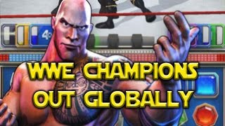 WWE: Champions - Global Launch iOS Android