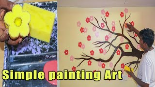 Easy & DIY Homemade Wall Art Painting Designs Ideas For Bedroom