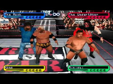 wwf smackdown 2 know your role psx eboot