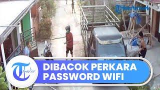 Dituduh Bobol Password Wifi, Pria di Bekasi Dibacok oleh Tetangganya