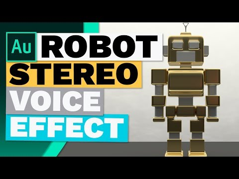 How to Create a Quick Robot Voice or Stereo Effect / robot
