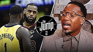 McGrady Thinks LeBron James Can Beat Pacers Single Handedly   The Jump