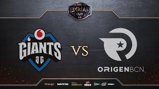 Vodafone Giants VS Origen BCN | Cuartos de final | Iberian Cup 2019 Playoffs