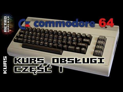 Commodore 64 - Kurs obsługi, Część I: Podłączenie i uruchomienie gry z kasety (magnetofonu)