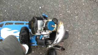 how to build/make a 49cc goped petrol scooter part 4       FRAME