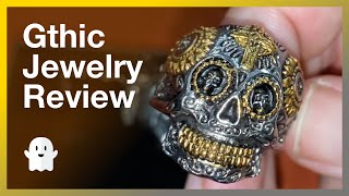 Gthic Jewelry - Get 20% Off!  Great Gift Idea For Halloween Lovers And Gothic Fashionistas