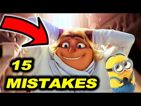😂 DESPICABLE ME 3 - 15 MISTAKES + BONUS EASTER EGGS