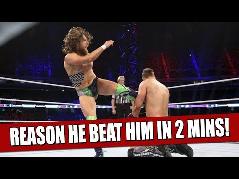 Real Reasons Why The Miz Lost to Daniel Bryan In Only 2 Minutes!