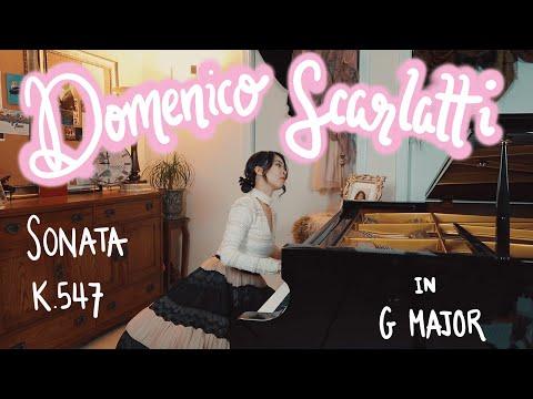 Domenico Scarlatti - Sonata in G Major K 547