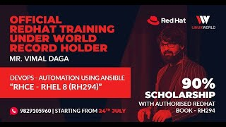 Experience The Best Red Hat Ansible Training In India | LwIndia
