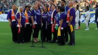 West Coast Singers National Anthem 6/24/17