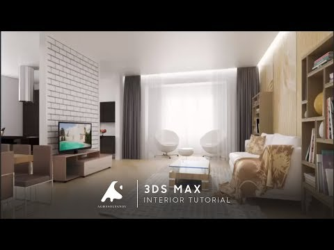 D Max Interior Design Modeling Tutorial Vray Photoshopcameraraw  Hd Play