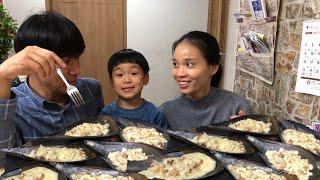 |Tập 348| SÒ MAI NƯỚNG PHÔ MAI MUKBANG.ANH 3 ĐÔNG NƯỚNG SÒ  GRILLED PEN SHELL WITH SHEESE.치즈 키조개 구이.
