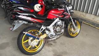 Kawasaki Ninja SS 150 with R9 Sentul