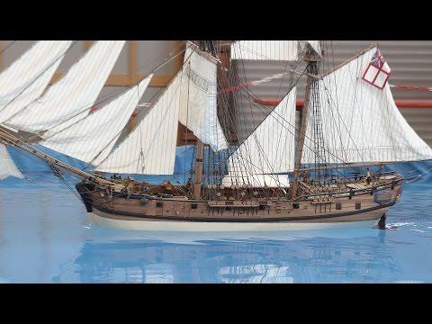 RC PIRATE SHIP HM Granado - Erlebniswelt Modellbau Kassel 2016