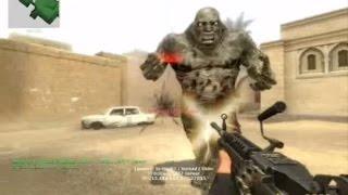 Counter Strike Source Zombie Horror boss fight