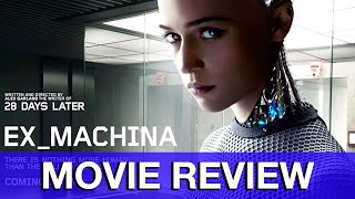 Ex Machina Movie Review - Oscar Isaac, Alicia Vikander, Domhnall Gleeson