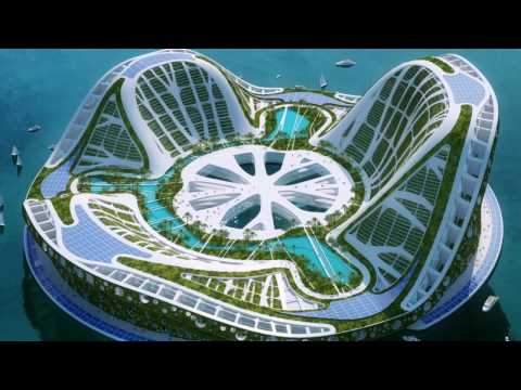 Эквора - подводный город будущего у берегов Рио-де-Жанейро