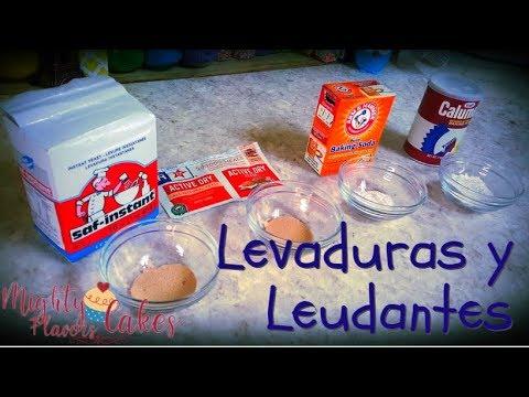Curso Reposteria 2 || LEVADURAS Y LEUDANTES // MIGHTY FLAVORS