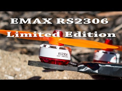 EMAX RS2306 Limited Edition White-Top Motors
