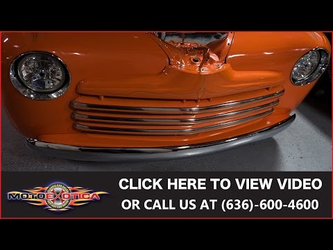 Video of Classic '48 Custom located in St. Louis Missouri Offered by MotoeXotica Classic Cars - KH4N
