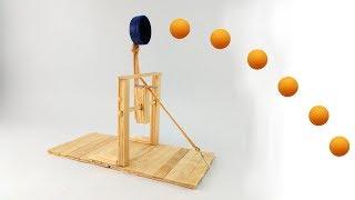 DIY Catapult Using Popsicle Sticks