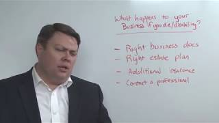 What happens to your business when you die or become disabled?