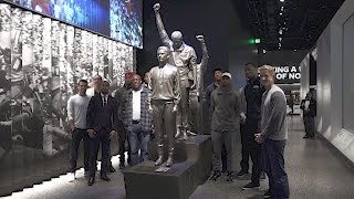 Warriors Visit African American History Museum