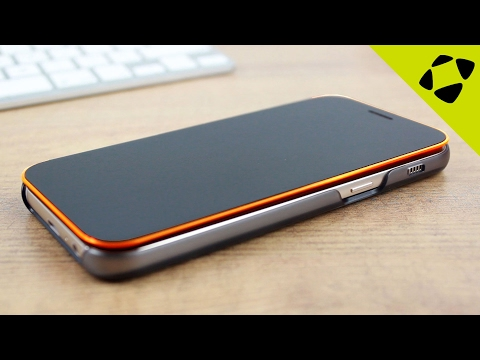 Official Samsung Galaxy A5 2017 Neon Flip Cover Case Review - Hands On
