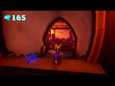 Colossus Level Playthrough de Spyro Reignited Trilogy