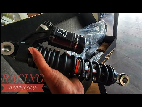 FOX RACING SUSPENSION / UNBOXING #street twin #perfomanceparts