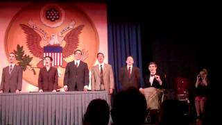 Annie - Tomorrow Reprise Just Cabinet - YPTW 2012 - Cast A