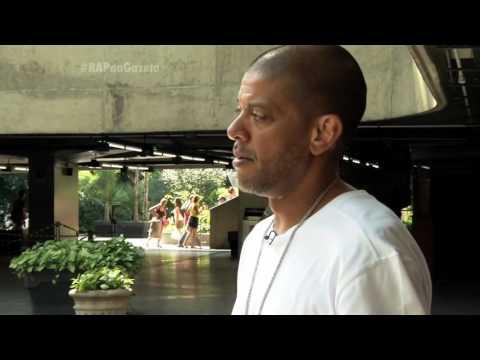 Ronald Rios com KL Jay dos Racionais MC's