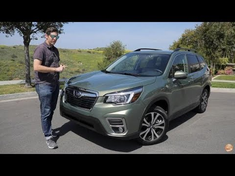 2019 Subaru Forester Limited Test Drive Video Review