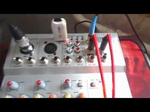 Детальный обзор микшерного пульта CYMIC F4A USB