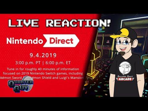 Nintendo Direct 9/4/2019 - LIVE REACTION!