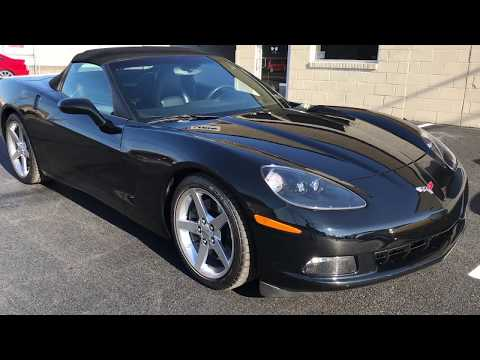 2005 Chevrolet Corvette Convertible 12.21.17
