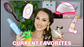 CURRENT FAVORITES! Beauty + Lifestyle   The Glam Belle