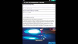 "LaurusApp ""Controlli di polizia online"""