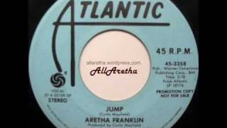 Aretha Franklin - Jump / Hooked On Your Love - 7″ DJ Promo - 1976