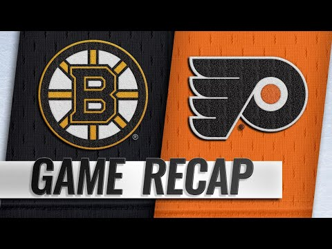 Couturier, Hart power Flyers past Bruins, 4-3
