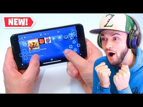 *NEW* PS4 on iPhone!