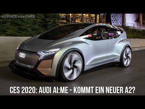 CES 2020: AUDI AI:ME Concept Studie - Kommt ein neuer Audi A2? Voice over Cars News - Concept Car