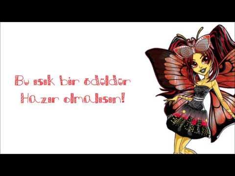 """Monster High Boo York """"Steal The Show"""" [Turkish/Türkçe] Lyrics"""